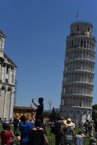 Pisa: The Leaning Tower.
