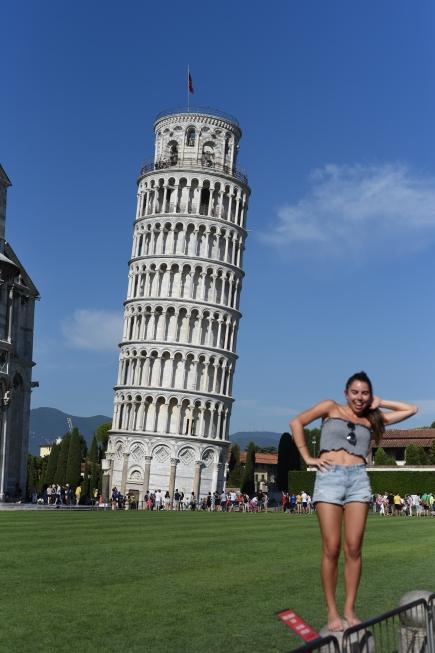 Poser at Pisa.