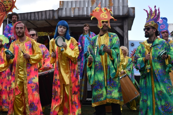 Colourful characters.