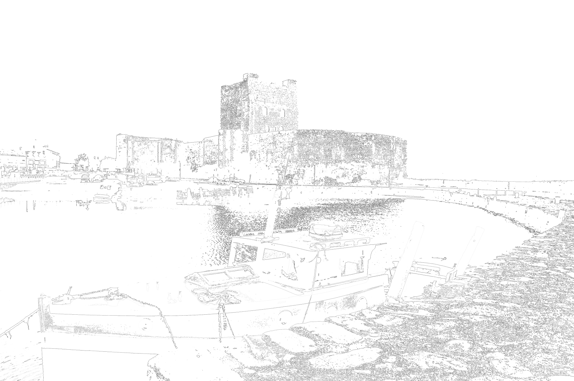 A trace of Carrickfergus.